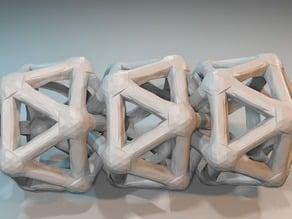 Interlocking Icosahedra