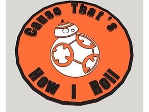 BB8 Badge