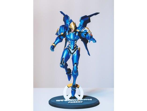 Overwatch Figura 3D
