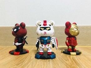 R-x86 Gundam/Deadpool/Iron Bear by Anthonylu