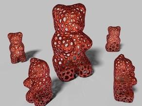 Gummy Bear - Voronoi Style