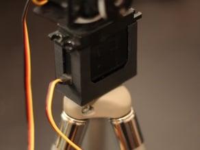 Tripod mount for HS-422 servo motor