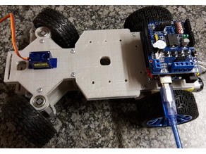 4WD RC Smart Car Chassis for Arduino (or ESP)