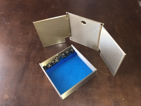 Dungeon Master Dice Box and Screen