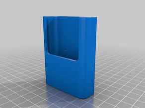My Customized Parametric wall holder for remote control