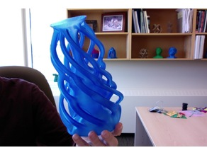 Spiral Articulated Vase