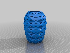 Low Poly Hole Vase