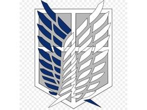 Scout Regiment Crest - AOT