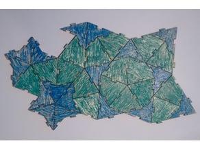 Penrose Kite / Dart tiling