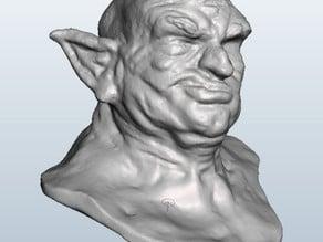 Ogre Bust