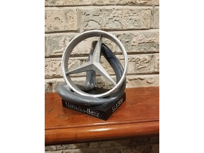 Mercedes logo decoration