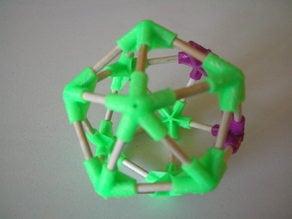 Icosahedron vertice