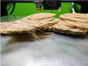 Pancake-free Woolly Mammoth Skeleton