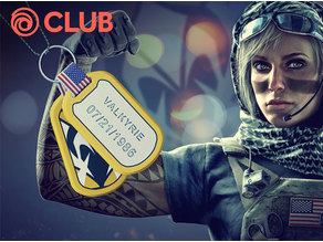Rainbow Six Siege - Valkyrie Birthday Charm (2018)