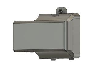 Custom Rayven battery door for LiPo