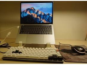 Adjustable Height Portable Laptop Stand