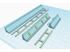 LED 45 Degree strip holder