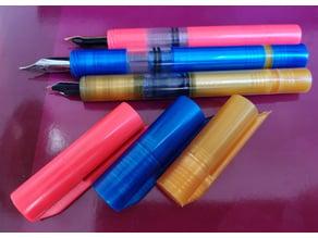 Easier to print (but longer) simple piston pen