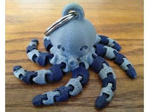 Cute Mini Octopus Keychain (Remix)