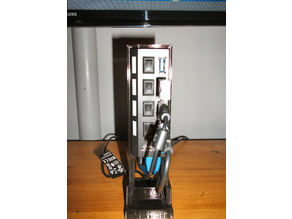 USB Hub Vertical Caddy