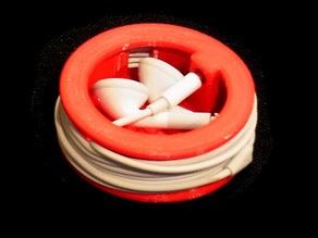 Earplug Cable Tidy-  Protects Earplugs and secures the cable