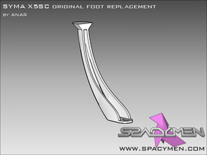 SYMA X5SC original foot replacement