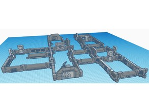 Dungeon Stick modern Scifi/SpaceShip/Lab/Bunker EDITED!
