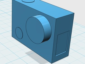 GoPro 3 Silver for negativ forms  / Placeholder