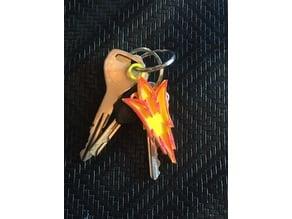 Pitchfork Keychain