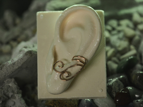 Human Ear Oogoo Mold