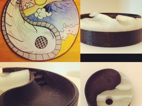 Yin Yang Surf Skate Container