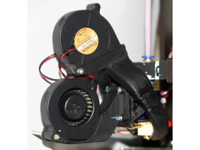 5015 Blower To 30mm Fan For E3D