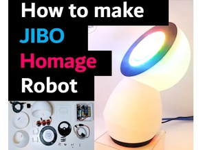 Jibo Homage - A DIY Music Dancing Robot