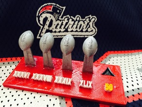 New England Patriots Quest for 50