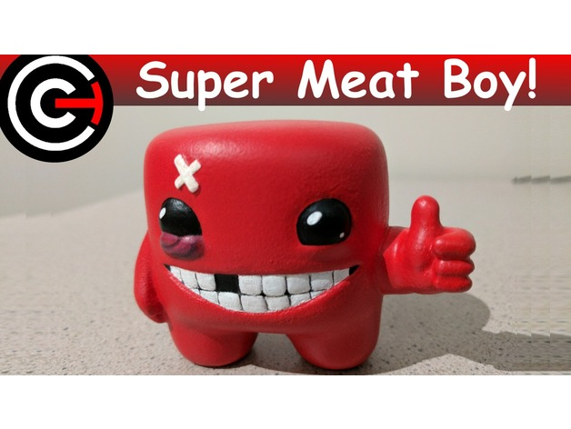 Super Super Meat Boy! by ChaosCoreTech - Thingiverse SN93