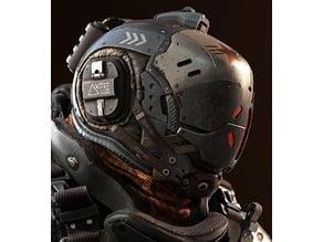 Titanfall Kanes Helmet