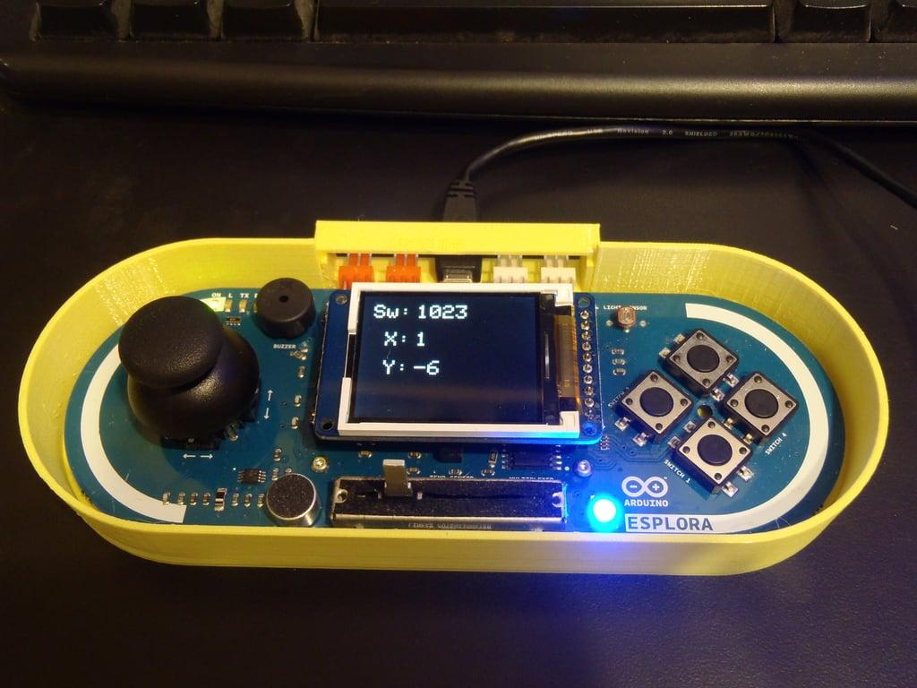 Arduino Esplora Case by joeyC - Thingiverse