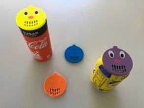CapClown - insect cover for soda cans / Insektenschutz für Getränkedosen