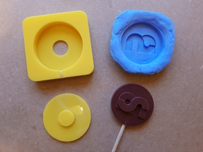 Chocolate Lollipop Mold