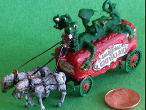 The Golden Age of Chivalry circus wagon kit