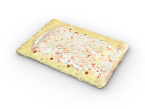 Strawberry Frosted  Pop Tart