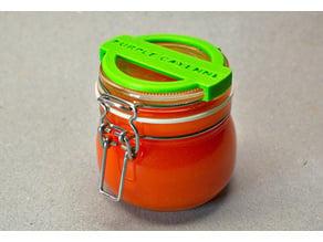 IKEA Hack - Korken Jar Label