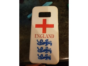 England World Cup Samsung S8 Phone Case