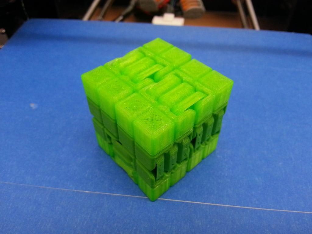 Kobayashi Fidget Cube (Infinity Cube, parametric) by