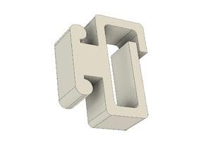 Prusa i3 MK3 3030 cable clip