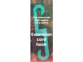 Extension cord hook brace ( for reinforcement)