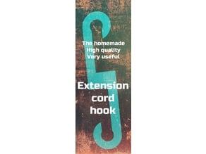 Extension cord hook brace ( for reinforcement)