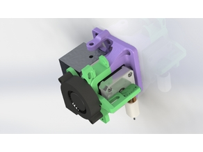Stock-ish Extruder Mount for Anet A8 and Alike! (Includes Chain and Mount Or Chainless!)