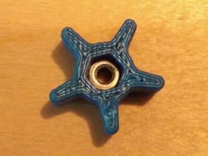 starnut for adjusting / leveling printerbed