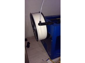Large (filament guide) spool holder for Craftbot PLUS